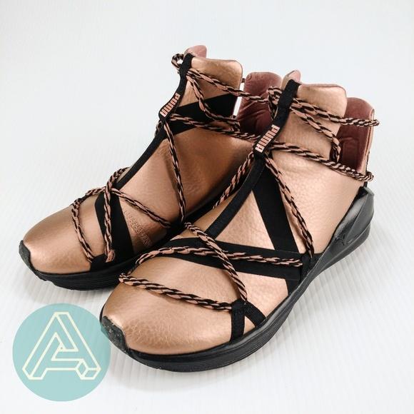 best service 6a701 765e6 Puma Women's FIERCE ROPE COPPER Shoes Copper Rose